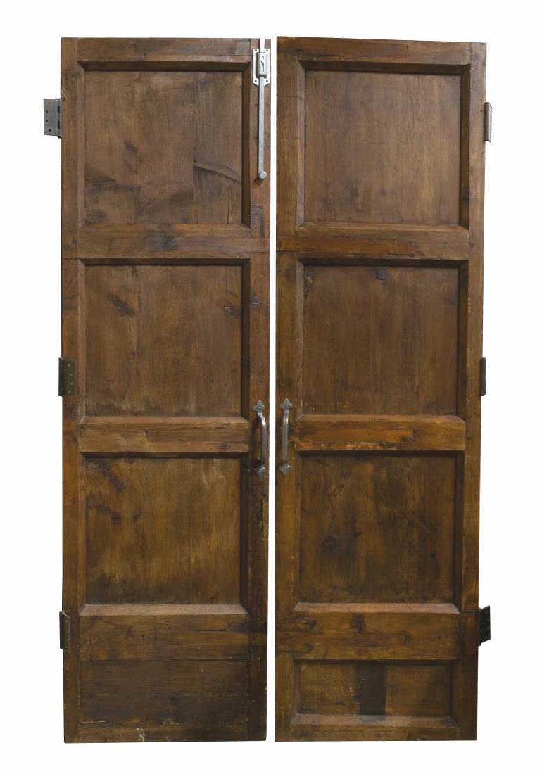 (PR) ARCHITECTURAL ECCLESIASTICAL CARVED DOOR SET - 2
