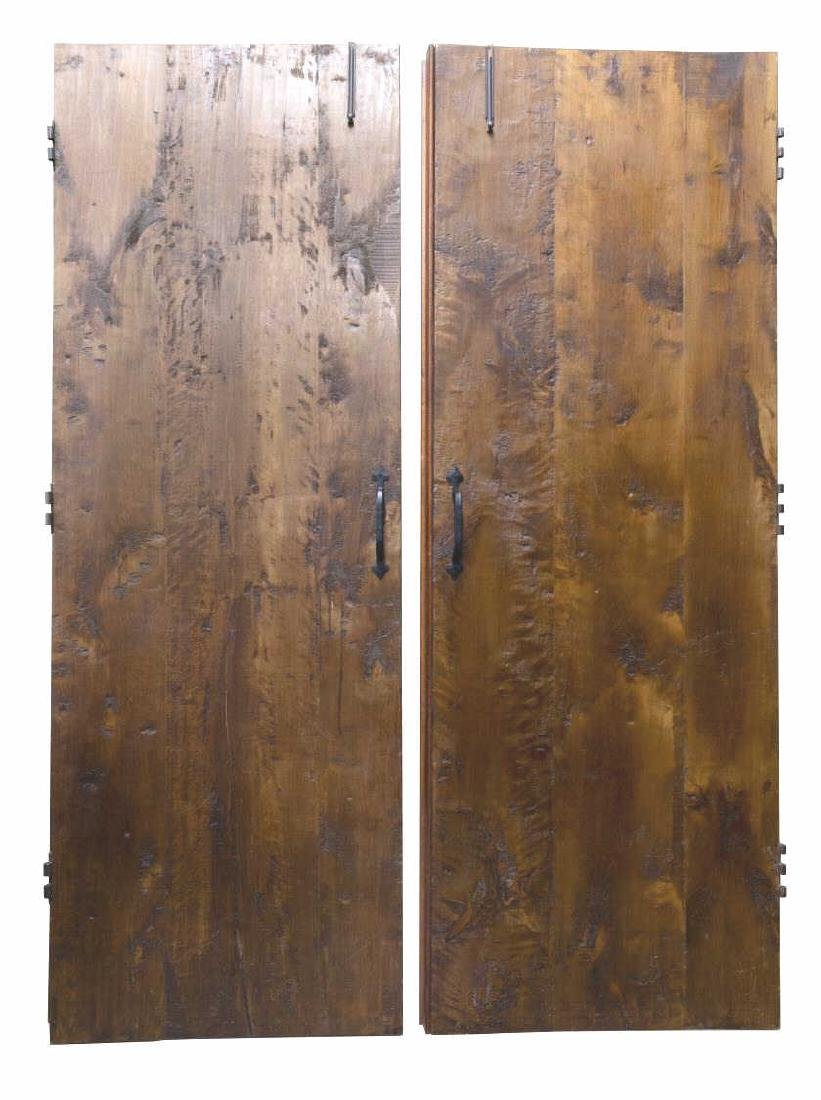 (PR) ARCHITECTURAL GOTHIC STYLE CARVED DOORS - 2