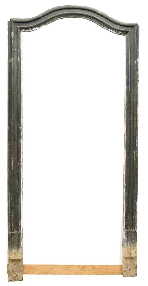 ITALIAN ARCHITECTURAL PAINTED ARCHED DOOR FRAME