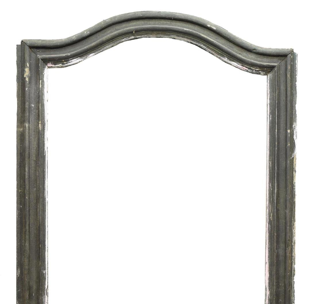 ITALIAN ARCHITECTURAL PAINTED ARCHED DOOR FRAME - 2