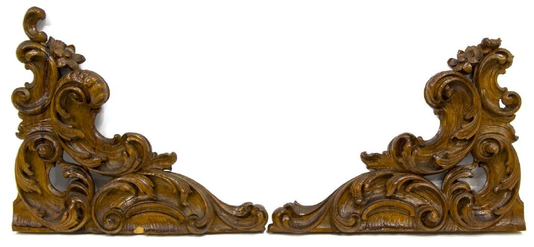 (6) ITALIAN CARVED ARCHITECTURAL ELEMENTS - 3