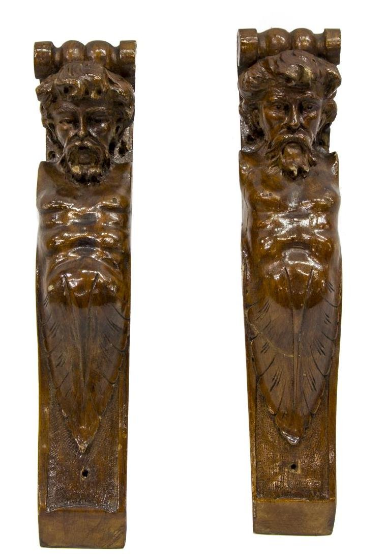 (6) ITALIAN CARVED ARCHITECTURAL ELEMENTS - 4