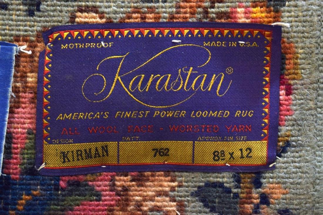 """KARASTAN KERMAN PATTERN RUG, 12'1"""", 8',7.25"""" - 4"""
