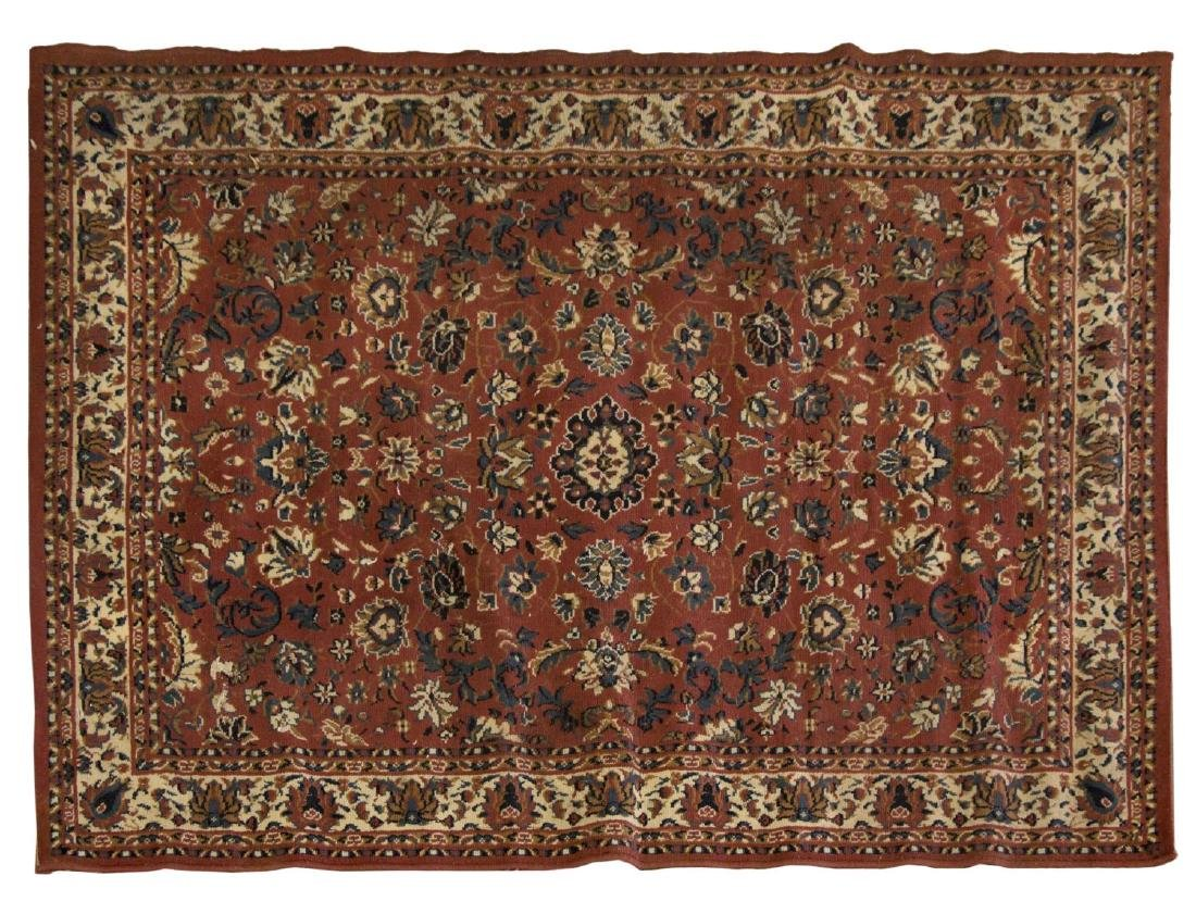 """PERSIAN STYLE RUG, 7'4"""" X 5'2"""""""
