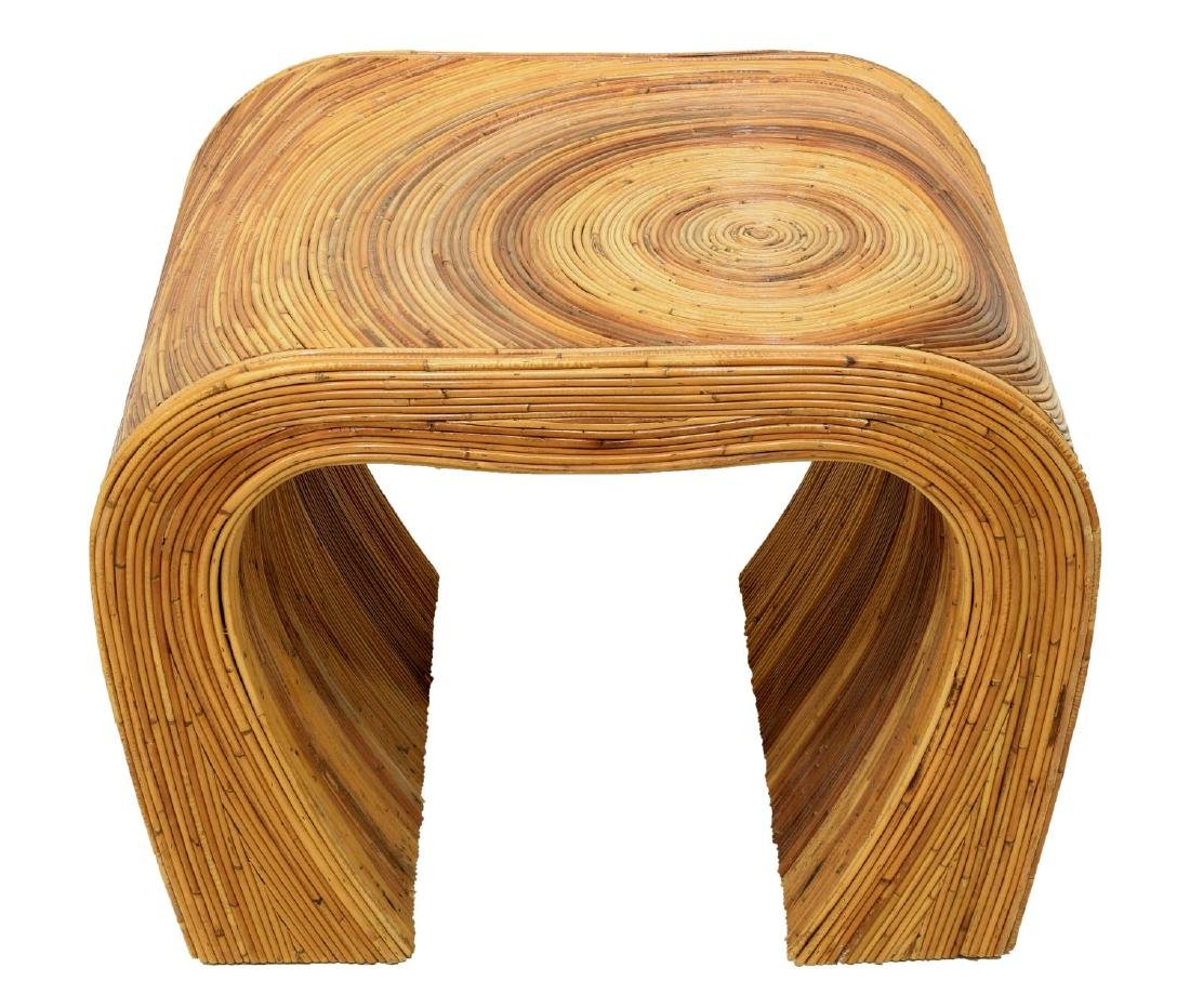 WATERFALL PENCIL BAMBOO SIDE TABLE - 2