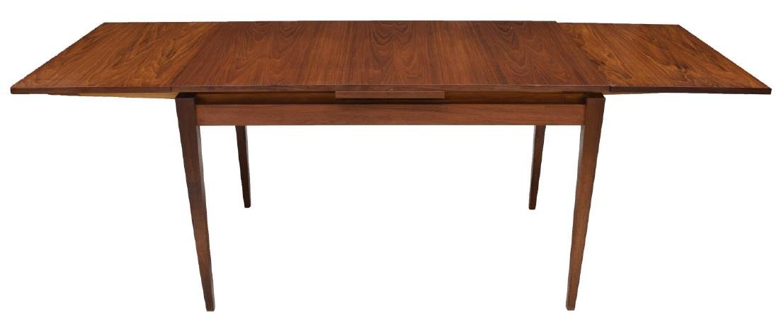 DANISH MID-CENTURY TEAK DRAWLEAF DINING TABLE - 2