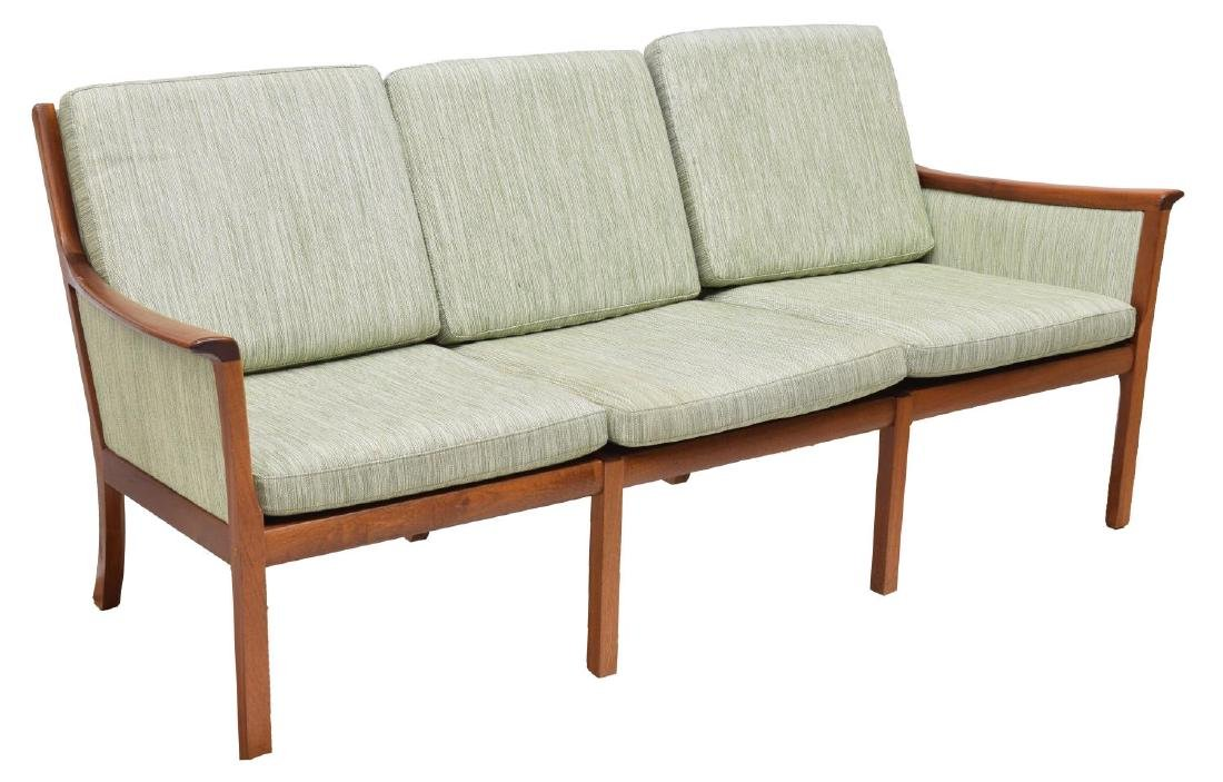DANISH MODERN THREE-SEAT SOFA