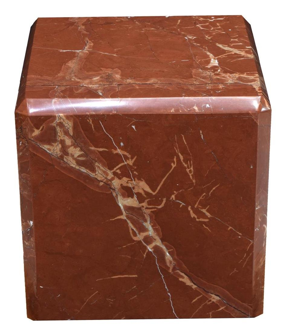 SQUARE MARBLE DISPLAY PEDSTAL - 2