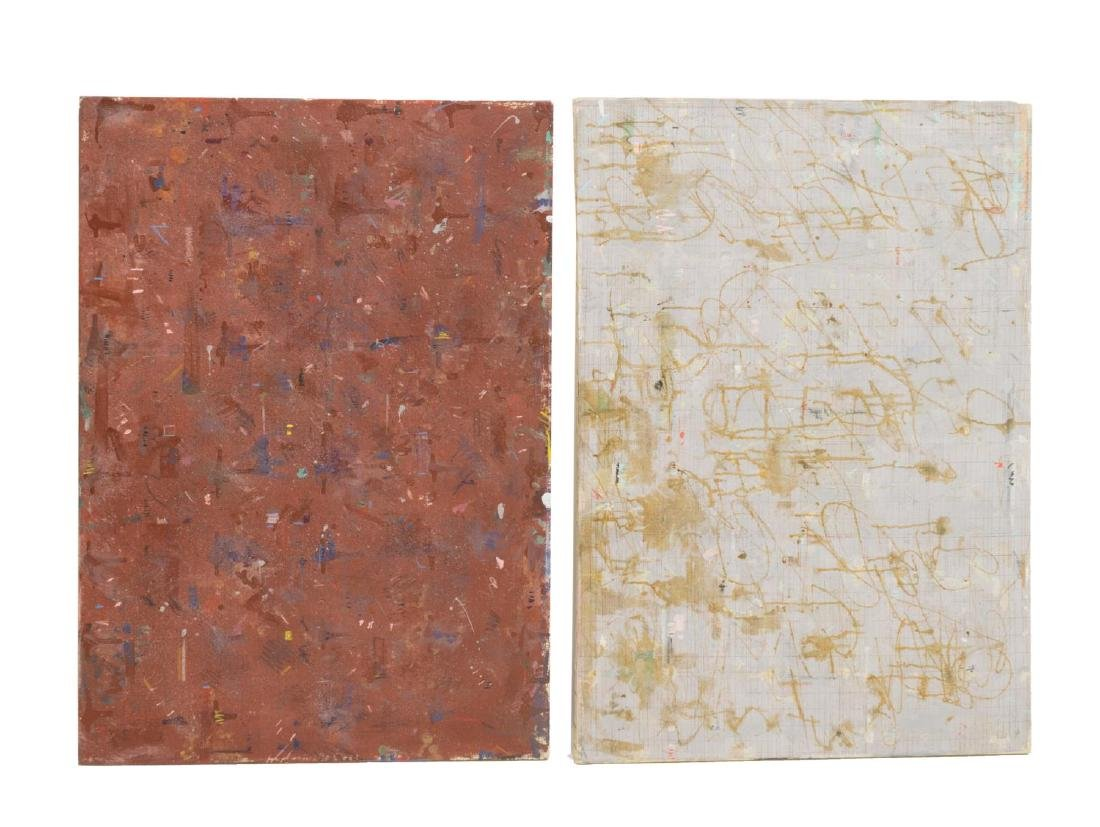 (2) VINCENT WILLIAM GAGLIOSTRO (NY) PAINTINGS