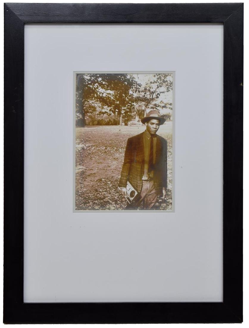 JEAN KALLINA PHOTOGRAPH OF JEAN-MICHEL BASQUIAT - 2