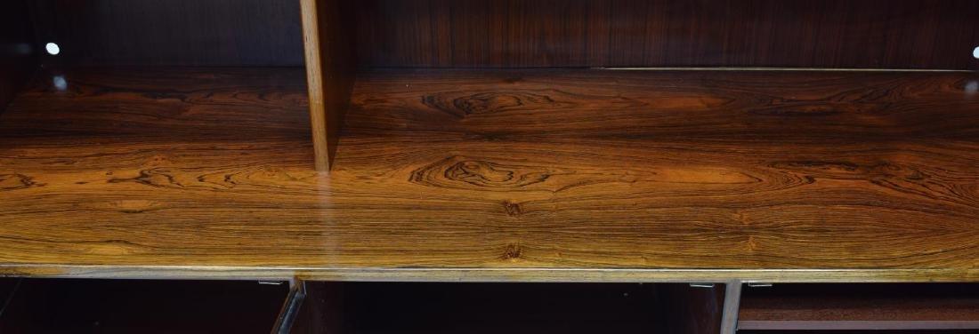 DANISH MID-CENTURY MODERN ROSEWOOD BOOKCASE - 3
