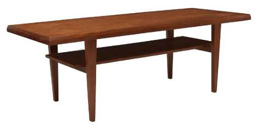 Danish Mid Century Modern Teakwood Coffee Table