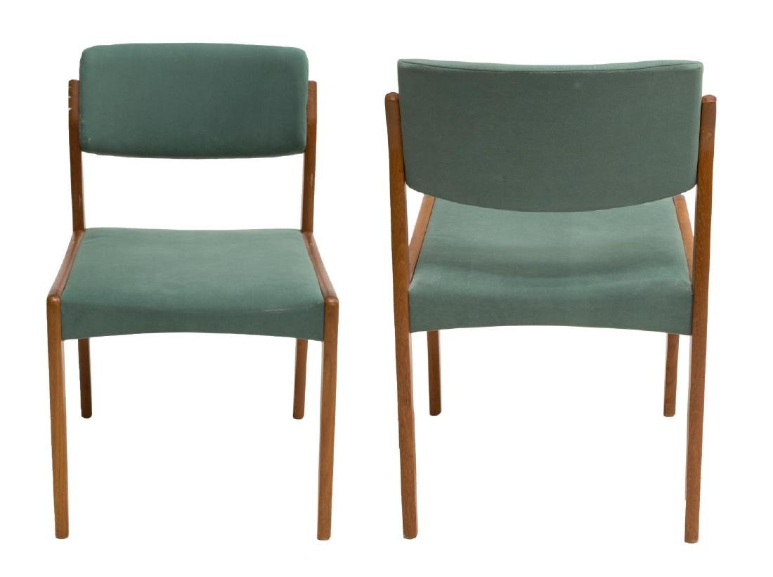 (6) DANISH MID-CENTURY MODERN TEAKWOOD SIDE CHAIRS - 2