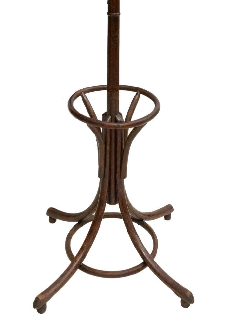 THONET STYLE BENTWOOD FREE STANDING HALL TREE - 2