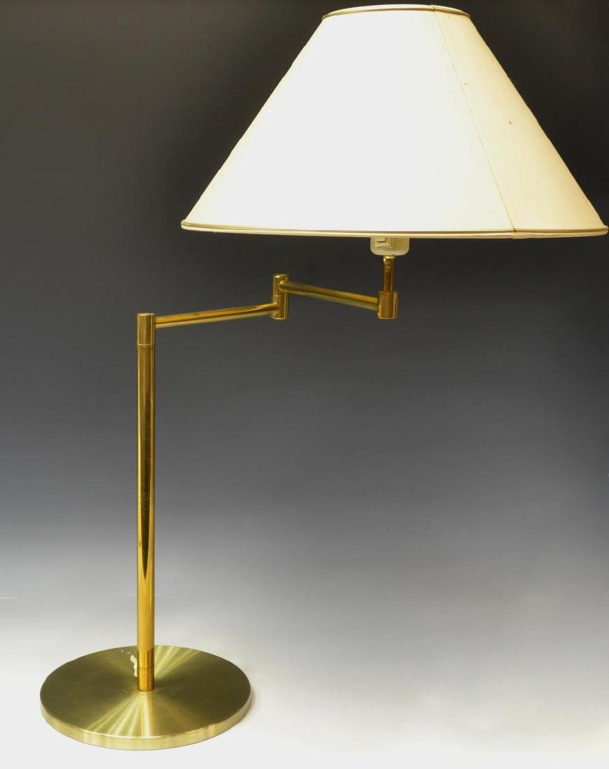 DANISH MODERN FRANDSEN BRASS ADJUSTABLE TABLE LAMP
