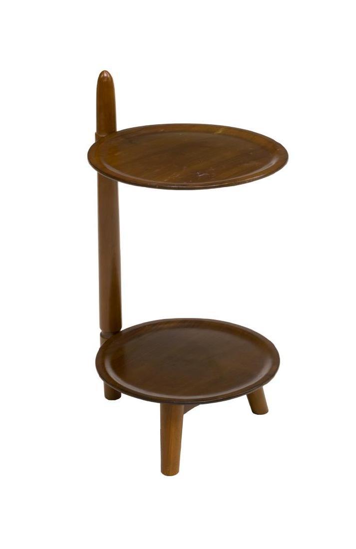 DANISH MID-CENTURY MODERN TEAKWOOD SIDE TABLE