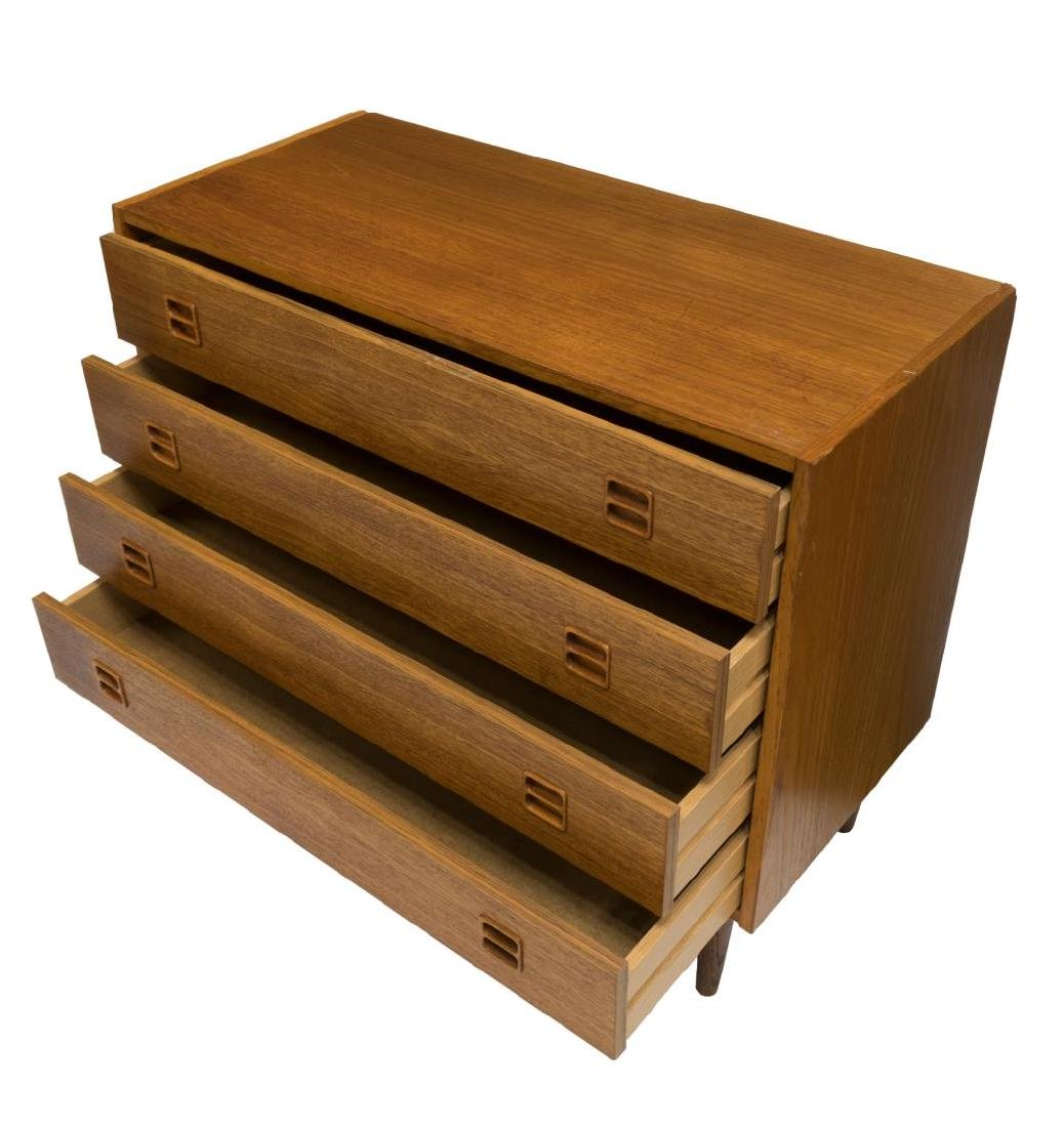 DANISH MID-CENTURY MODERN TEAK CHEST OF DRAWERS - 2