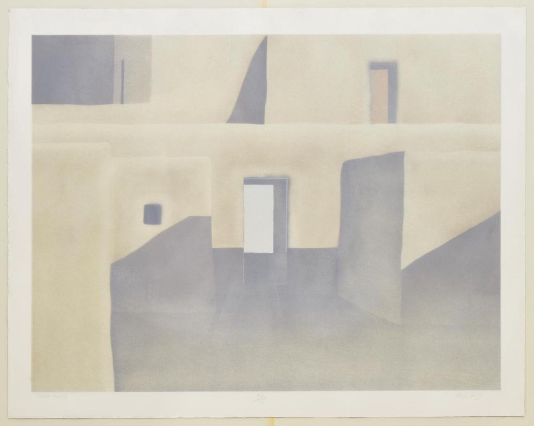 FRAMED JOHN AXTON (NEW MEXICO, B.1947) LITHOGRAPH