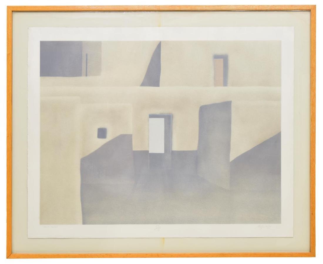 FRAMED JOHN AXTON (NEW MEXICO, B.1947) LITHOGRAPH - 2