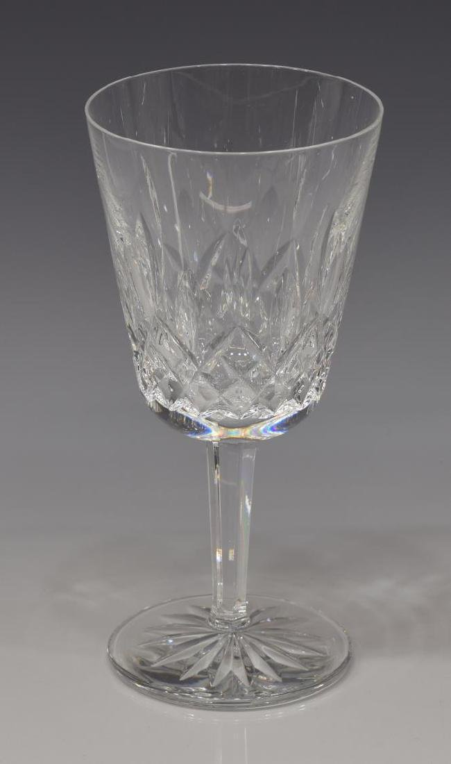 (14) WATERFORD 'LISMORE' CUT CRYSTAL WATER GOBLETS - 2