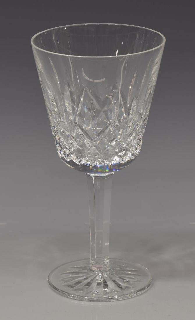 (10) WATERFORD 'LISMORE' CUT CLARET WINE GLASSES - 2