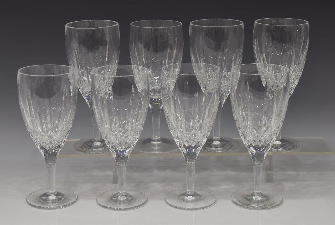(8) WATERFORD 'LISMORE NOUVEAU' ICED TEA GOBLETS