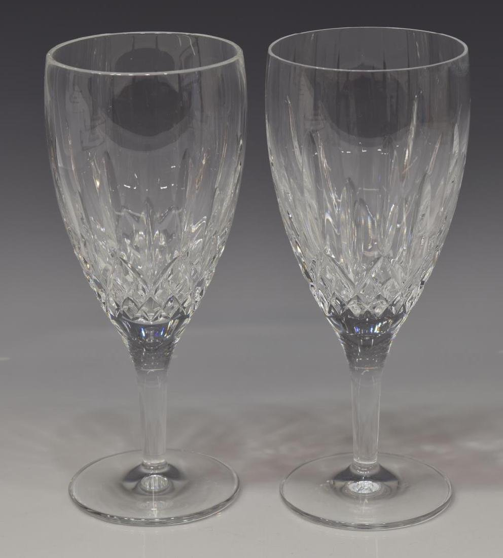 (8) WATERFORD 'LISMORE NOUVEAU' ICED TEA GOBLETS - 2