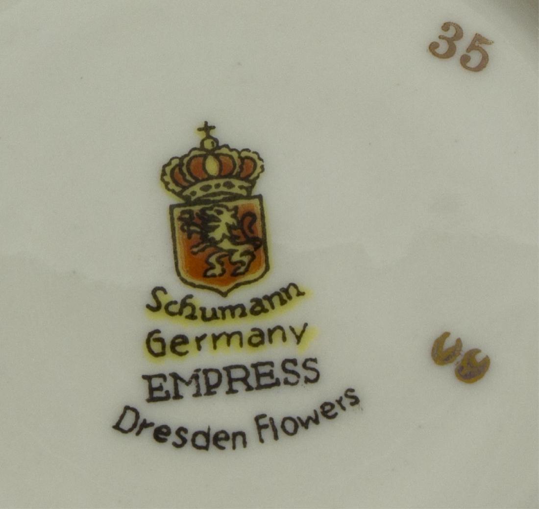 (73) SCHUMANN 'EMPRESS DRESDEN FLOWERS' SERVICE - 5