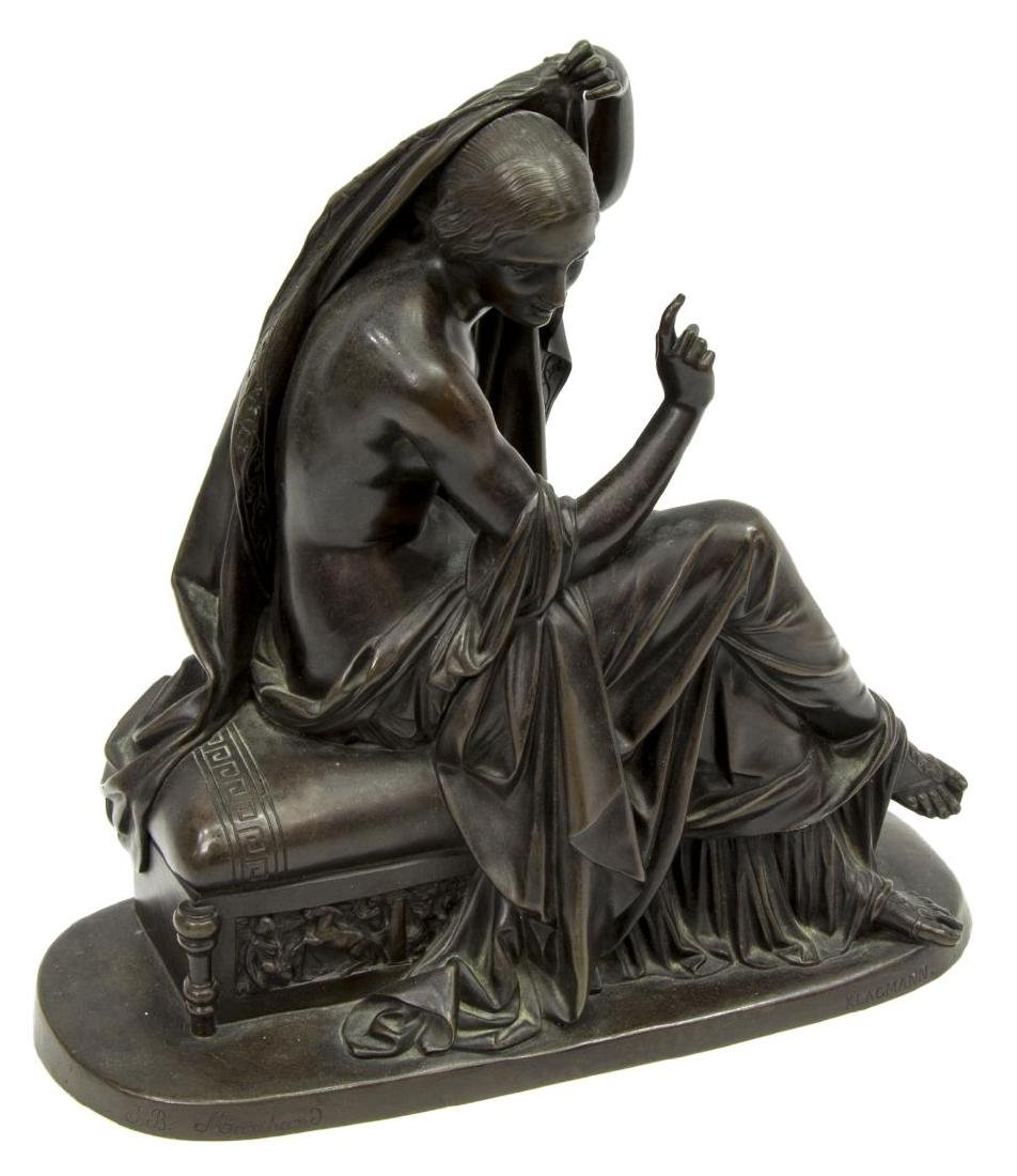 KLAGMANN (1810-1867) PATINATED BRONZE SCULPTURE