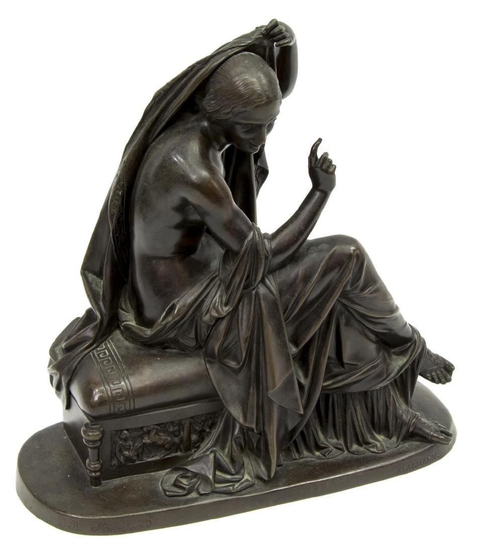 KLAGMANN (1810-1867) PATINATED BRONZE SCULPTURE