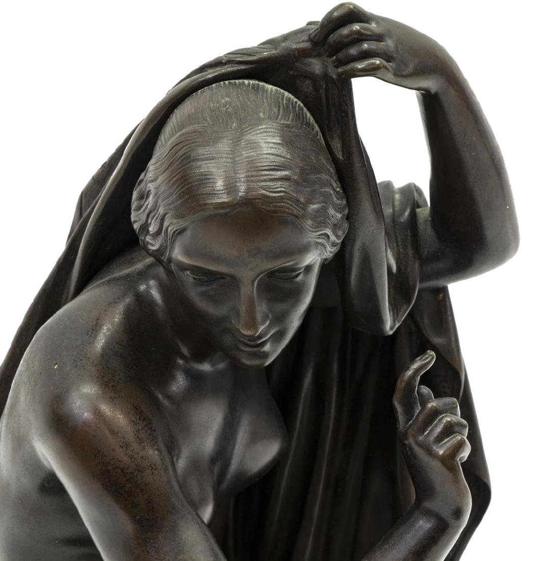 KLAGMANN (1810-1867) PATINATED BRONZE SCULPTURE - 2