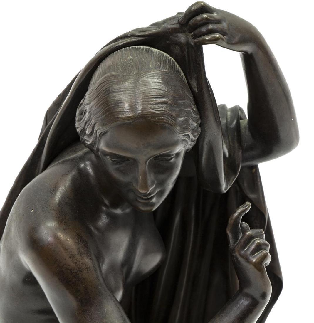 KLAGMANN (1810-1867) PATINATED BRONZE SCULPTURE - 2