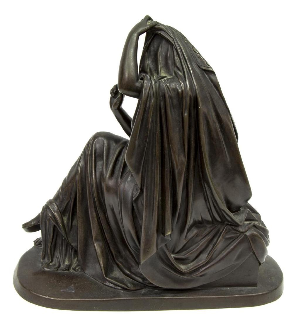 KLAGMANN (1810-1867) PATINATED BRONZE SCULPTURE - 4