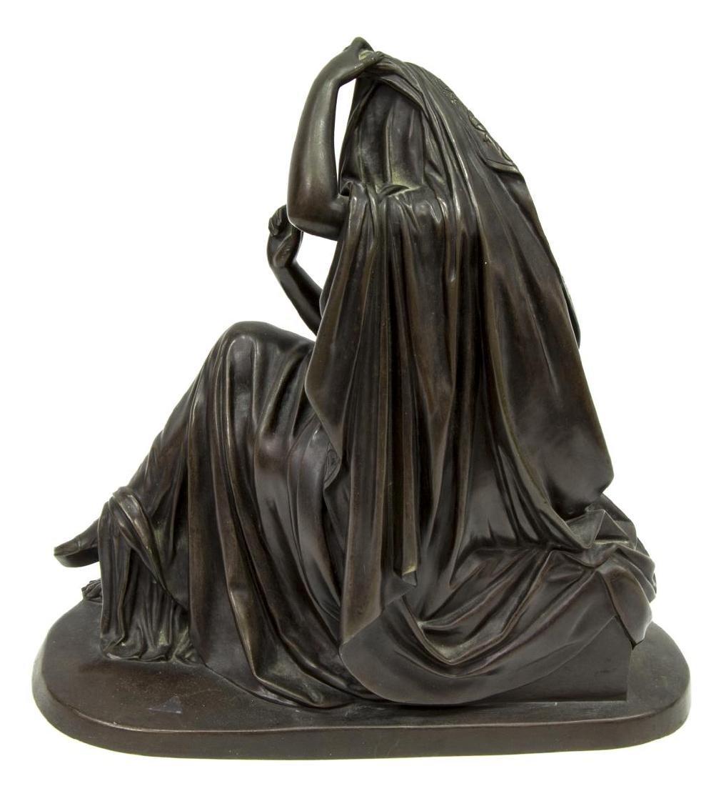 KLAGMANN (1810-1867) PATINATED BRONZE SCULPTURE - 4
