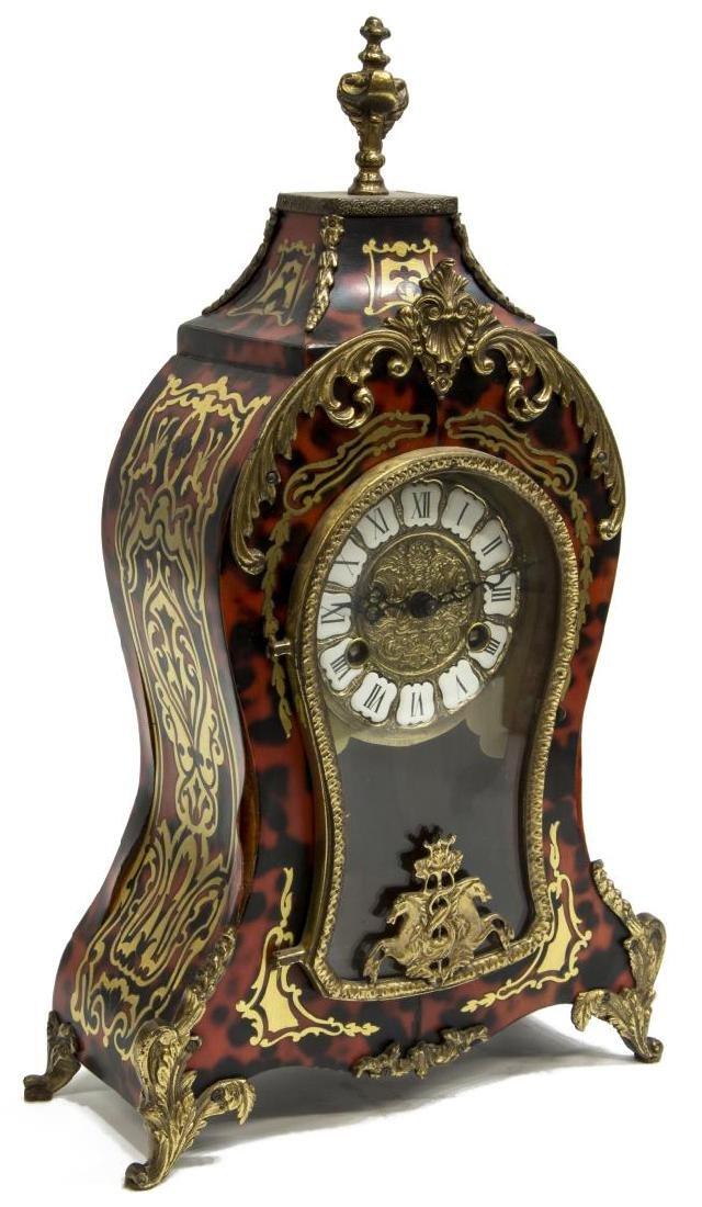 LOUIS XVI STYLE HERMLE BOULLE MANTEL CLOCK