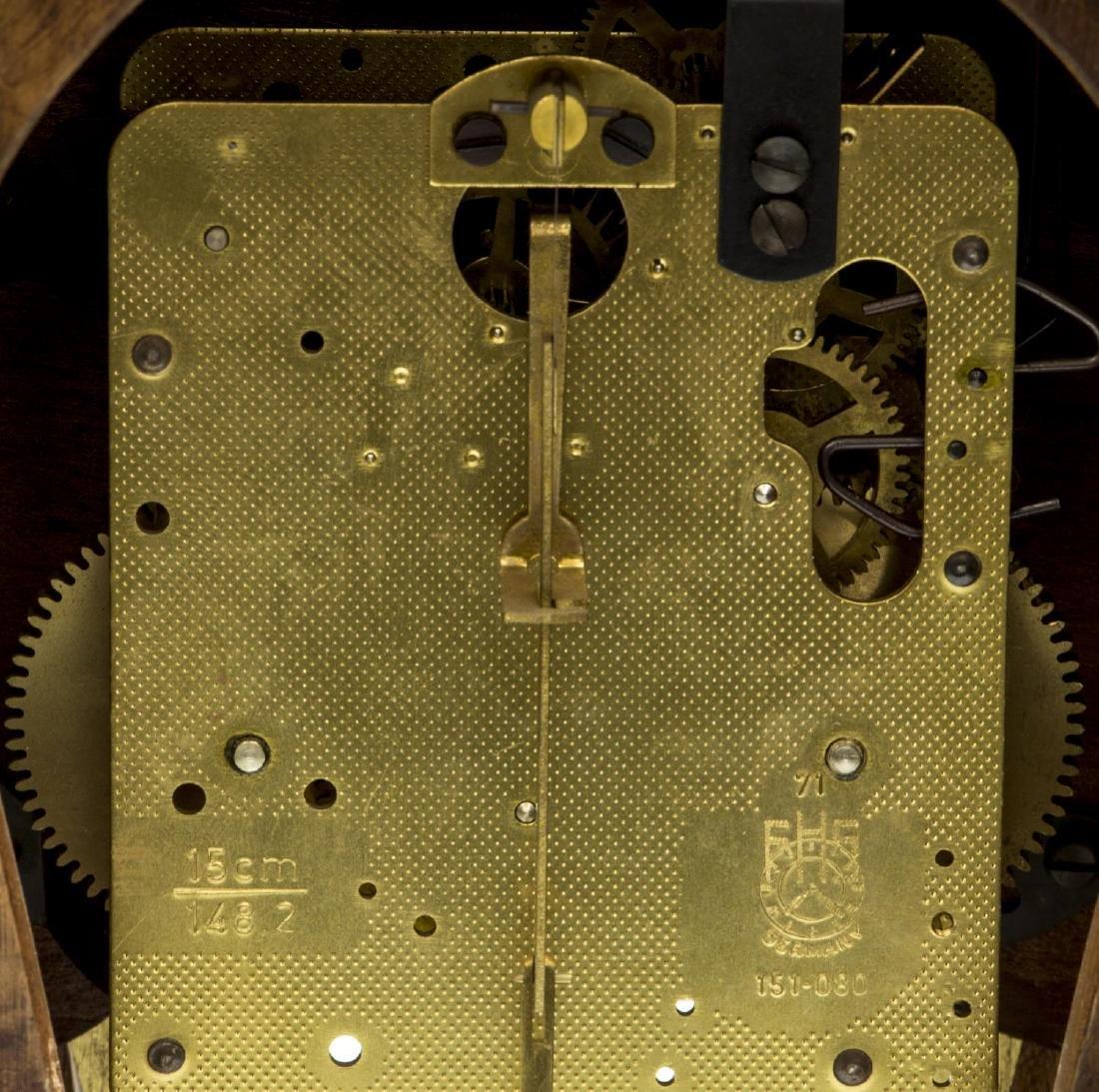 LOUIS XVI STYLE HERMLE BOULLE MANTEL CLOCK - 5