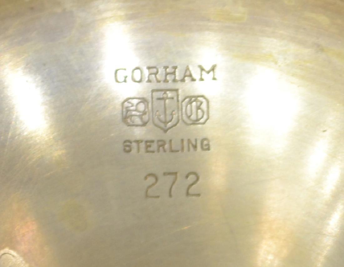 (8) GORHAM 'PURITAN' STERLING SILVER WATER GOBLETS - 3