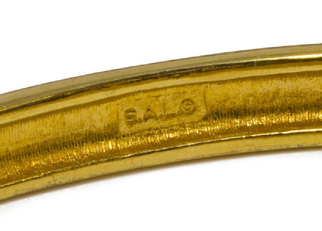 (5) SWAROVSKI S.A.L GOLD-TONE & CRYSTAL JEWELRY - 5