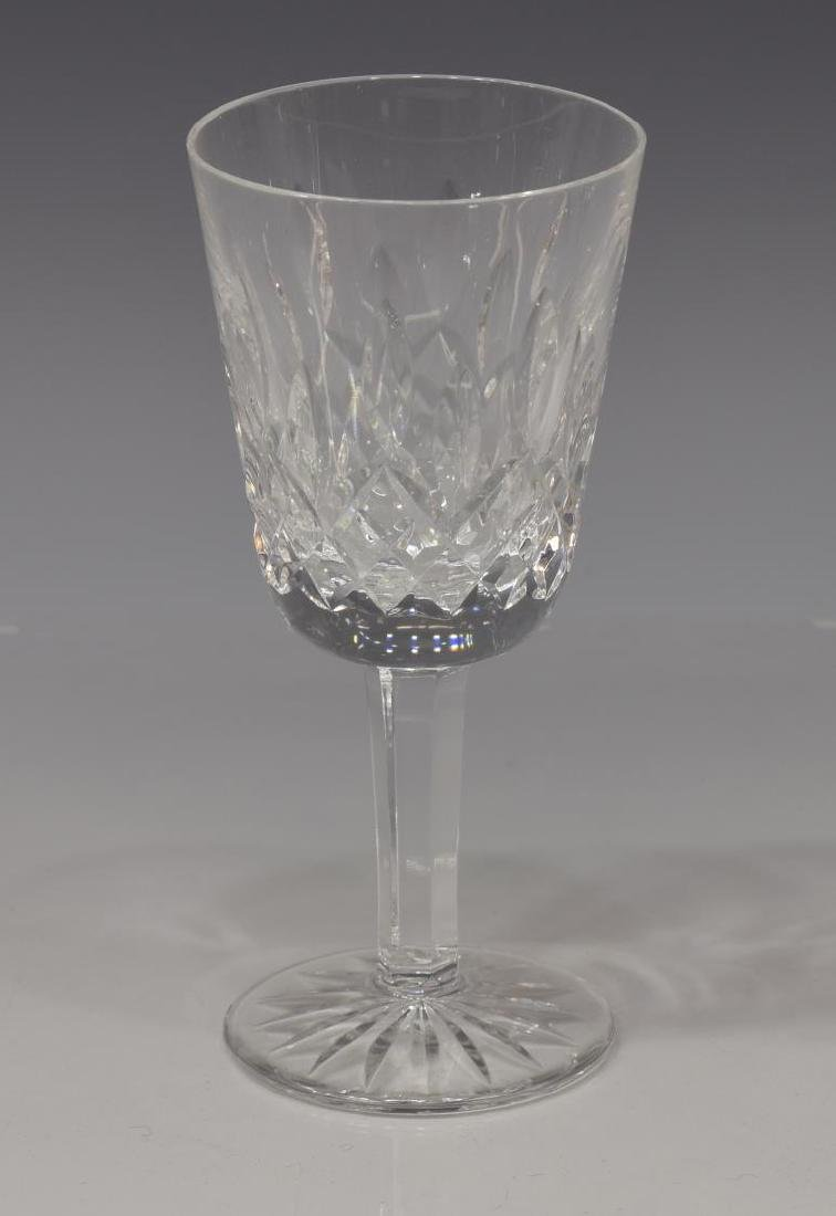 (9) WATERFORD 'LISMORE' CUT WHITE WINE GLASSES - 2