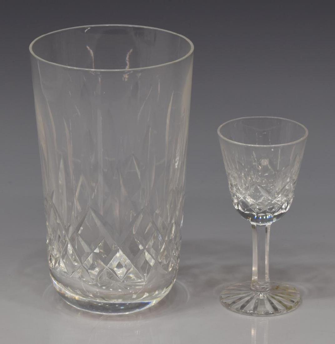 (17) WATERFORD 'LISMORE' CRYSTAL DRINKWARE - 2