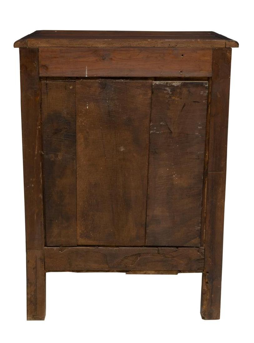 FRENCH LOUIS XV STYLE WALNUT CONFITURIER CABINET - 3