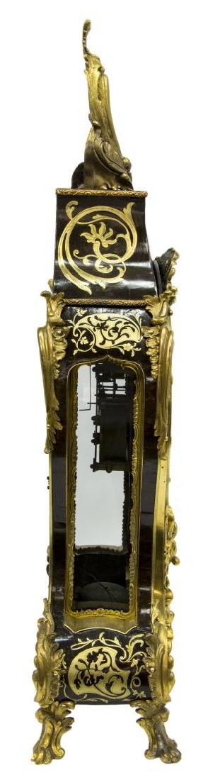 FRENCH LOUIS XV PERIOD BOULLE BRACKET CLOCK, DEY - 4