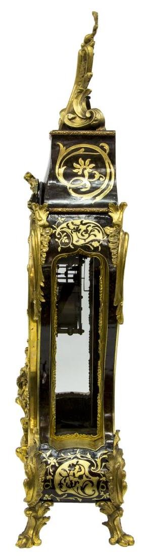 FRENCH LOUIS XV PERIOD BOULLE BRACKET CLOCK, DEY - 6