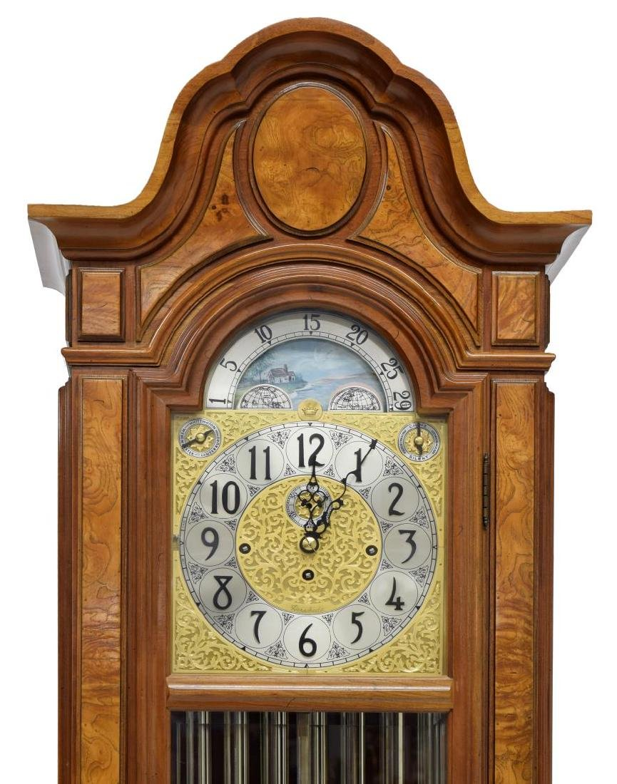 HERSHEDE 'SHEFFIELD' 9-TUBE TALL CASE CLOCK