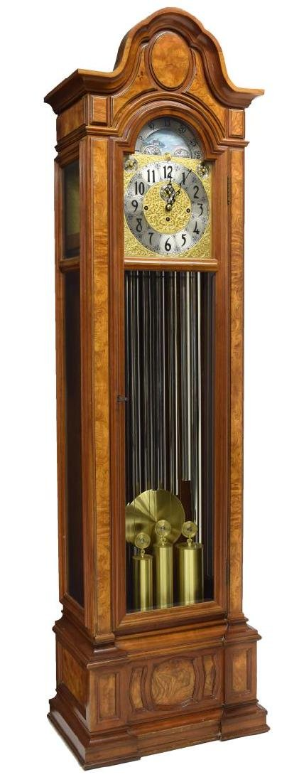 HERSHEDE 'SHEFFIELD' 9-TUBE TALL CASE CLOCK - 2