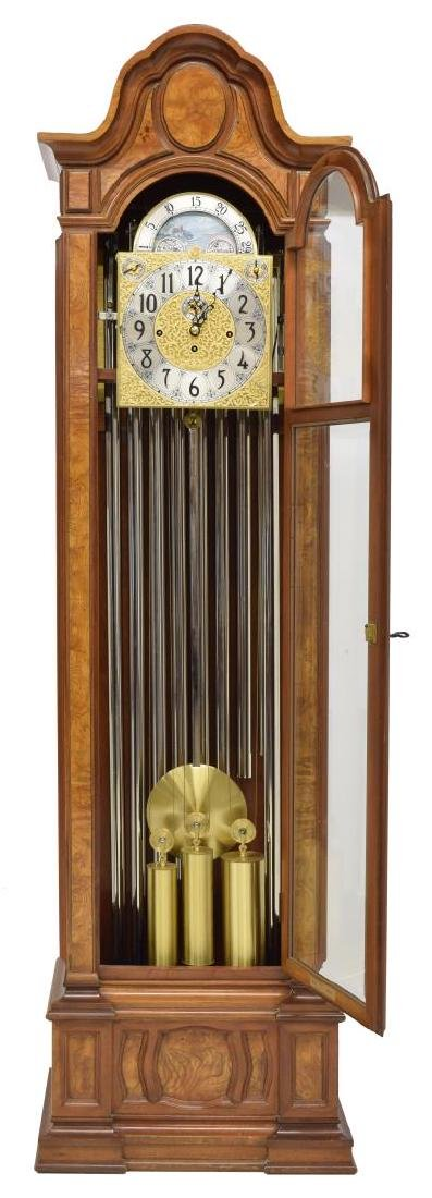HERSHEDE 'SHEFFIELD' 9-TUBE TALL CASE CLOCK - 3
