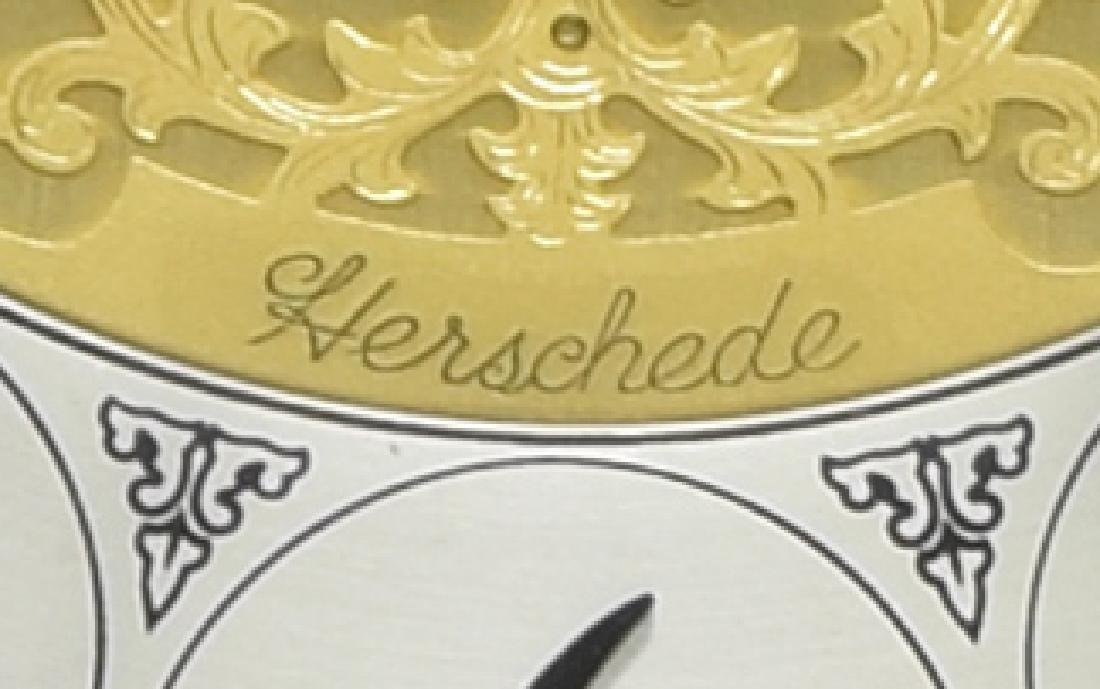 HERSHEDE 'SHEFFIELD' 9-TUBE TALL CASE CLOCK - 5