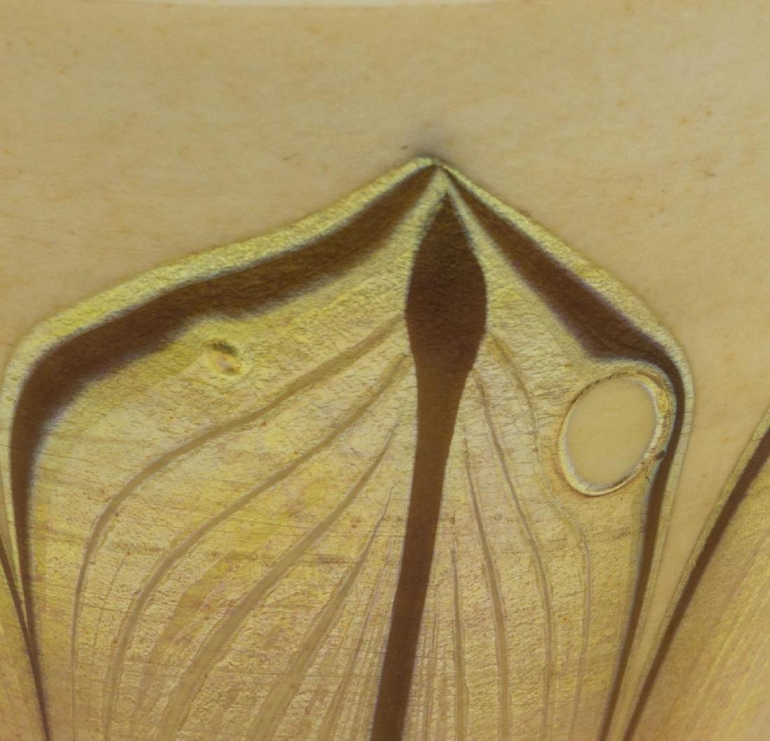 (PAIR) TIFFANY STUDIOS FAVRILE GLASS TRUMPET VASES - 5