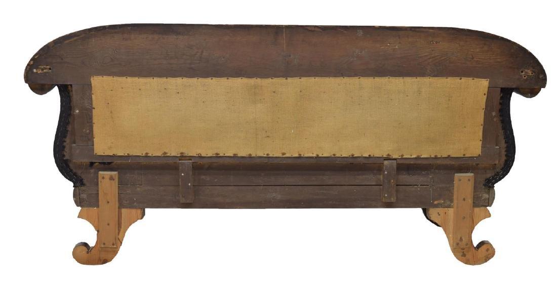 DANISH 1870'S MAHOGANY FRAMED SOFA - 3