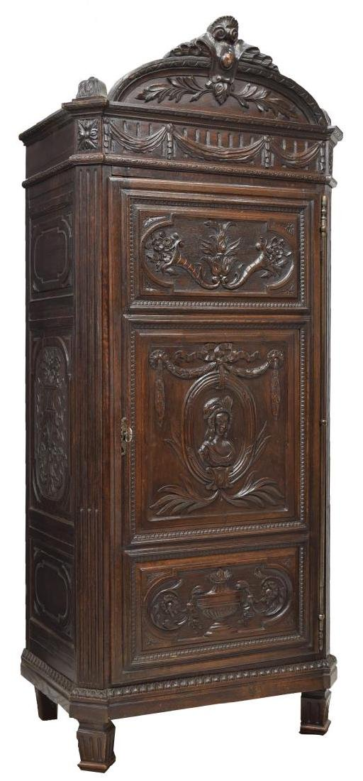 FINELY CARVED LOUIS XVI MID 19TH C. BONNETIERE